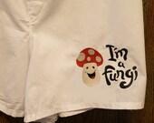 Mens Boxer Shorts, Embroidered Boxer Shorts, Mens Underwear, Mens Clothing, Mushroom, Fungi Boxer Shorts, Cute Boxer Shorts, Mens Boxers
