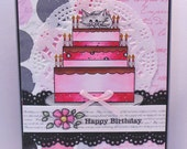 "Handmade ""Happy Birthday"" Greeting Card-Sami Stamps Image"