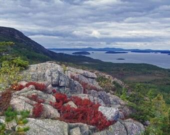 Maine Landscape Photography Bar Harbor Nature Acadia