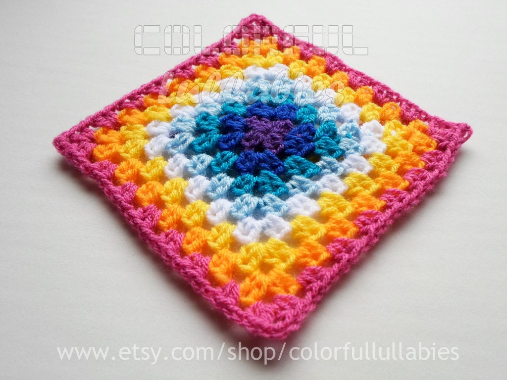 Half double crochet granny square chart pattern no 6 of the zoom bankloansurffo Image collections