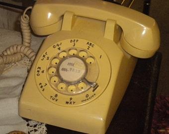 1960's Rotary Telephone, Vintage telephone