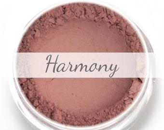 "Eyeshadow Sample - ""Harmony"" - Matte Neutral Brownish Pink  - Vegan Mineral Eyeshadow Net Wt .4g"