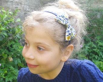 Liberty Print Bow Hairband for Girls & Women