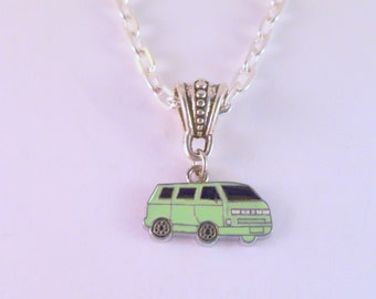 VW T25 Camper Van Necklace