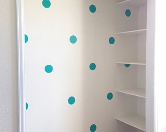 Polka Dot Wall Decals--SET OF 50 (3 and 4 inches in diameter available)