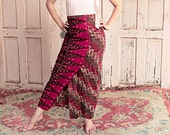 Unique Boho Ethnic ankle-length Skirt - symbol of Freedom & Youth of 50 years