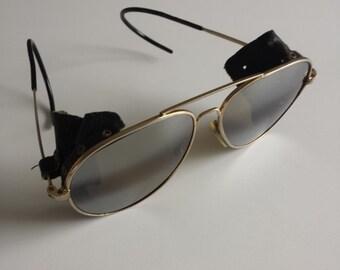 Wayfarer Aviator Vintage Sunglasses Pilot Army World War Two