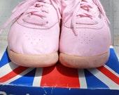 Vintage Reebok Pink Hightops Size 7