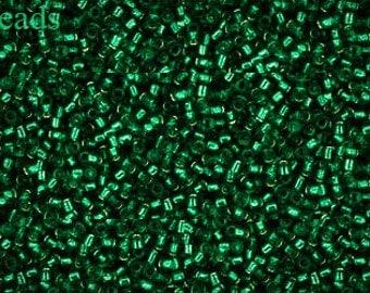 15/0 TOHO seed beads 10g Toho beads 15/0 seed beads Green 15-36 last
