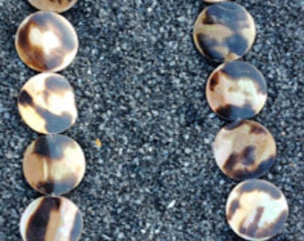 Sea Shell Beads (Brown Lip Mother-of-Pearl)