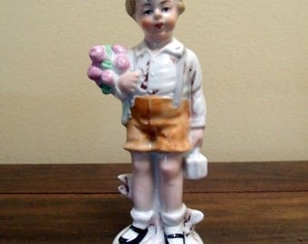 Vintage East Germany Porcelain Figure 1970s
