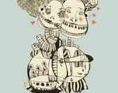 """Archival print-""""STRANGE LOVE"""""""