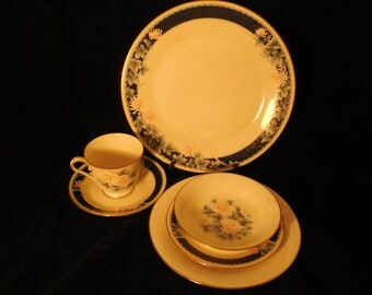 "Noritake ""Nightsong"" 5-piece Place Setting"