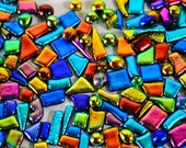 Dichroic Glass Mosaic Tiles - FrogHollowGlass