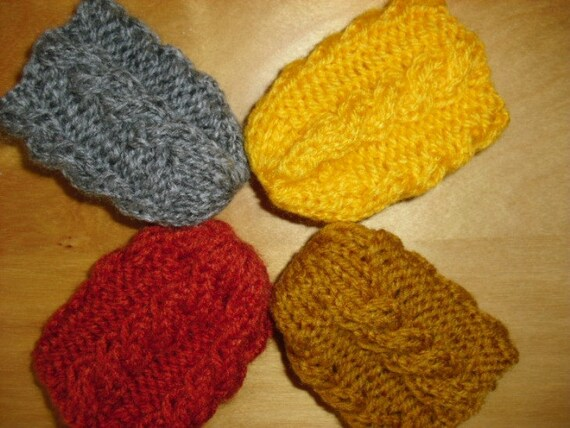 Knitted Floor Protectors Set Of 4 Chair Socks Chair Leg