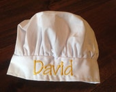 David Sample Toddler/Child Chef Hat, ready to ship