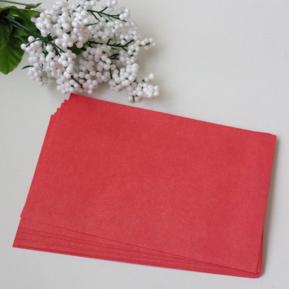 Envelopes A8 Red / Set of 25 /  Valentine / Christmas / 4th July / Party Invitations