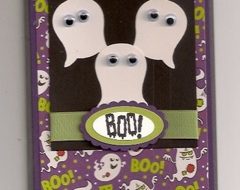 Stampin' UP Gaggle of Ghosts Halloween Card Kit