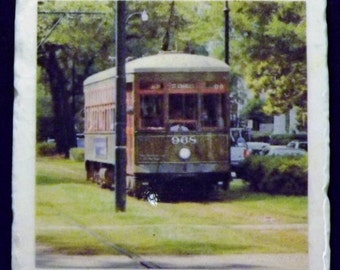 New Orleans St. Charles Ave. Streetcar Coaster