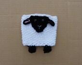 Sheep Coffee Cozy