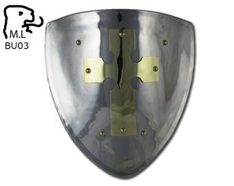 New Medieval pauldron king arthur Warrior stainless steel Armor Larp BU03