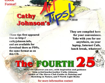 The Fourth 25 Art Tips, Cathy Johnson