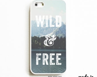 Rubber iPhone 5 Case. iPhone 5S Case. Wild & Free. iPhone 5 Cases. iPhone 5S Cases. Rubber iPhone 5 Case. Phone Case.