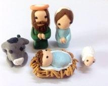 Christmas Nativity Set - Nativity Scene Decor Set