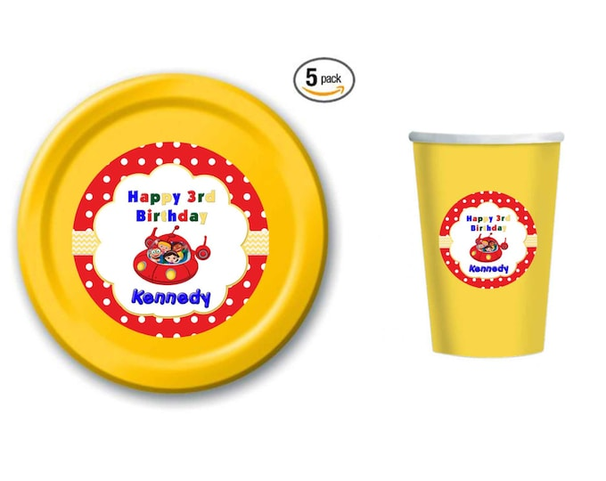 Little Einsteins printable Stickers for Plates and decor