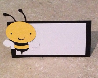 Bumble Bee Place Cards