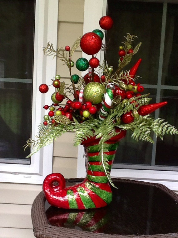 Santa elf centerpiece