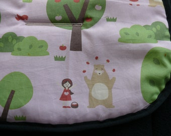 Reversible Pram and Stroller liners- Little Red Riding Hood