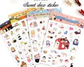 Korean Scrapbook Jetoy Choo Choo Sticker Pack (4 sticker sheets) (STNO02015)