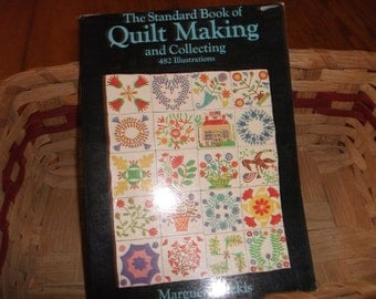 """The title of this book is """"The Standard Book of Quilt Making and Collecting"""" by Marguerite Ickis"""