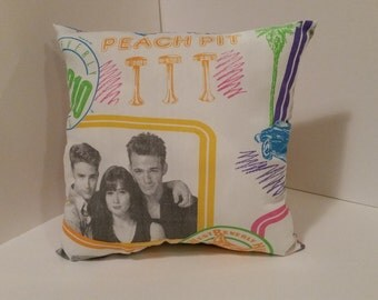 Vintage Beverly Hills 90210 Pillow