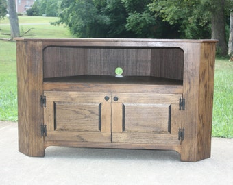 tv stand corner free shipping country primitive distressed flat screen