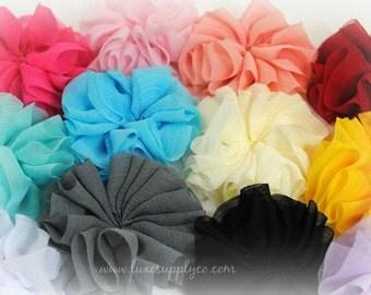 "Petite Unfinished Ballerina Flowers 2"" -  CLEARANCE - GRAB BAG - Random Assortment of Colors"