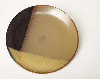 Sango Gold Dust Black Dinner Plate