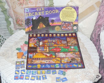 The Secret Door Board game ,Vintage Board Games, Games.Game Night, :)S
