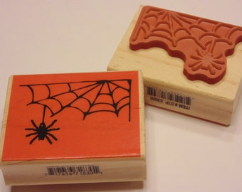 Spiderweb, rubber stamp, 50 mm (SB3)