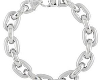 Men's Bracelet, Link Bracelet, Stainless Steel Bracelet, Bracelet, Jewelry