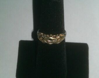 925 Sterling Silver Designed Ring