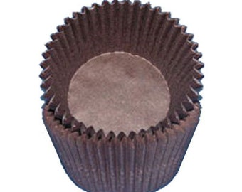Dark Brown Baking Cups