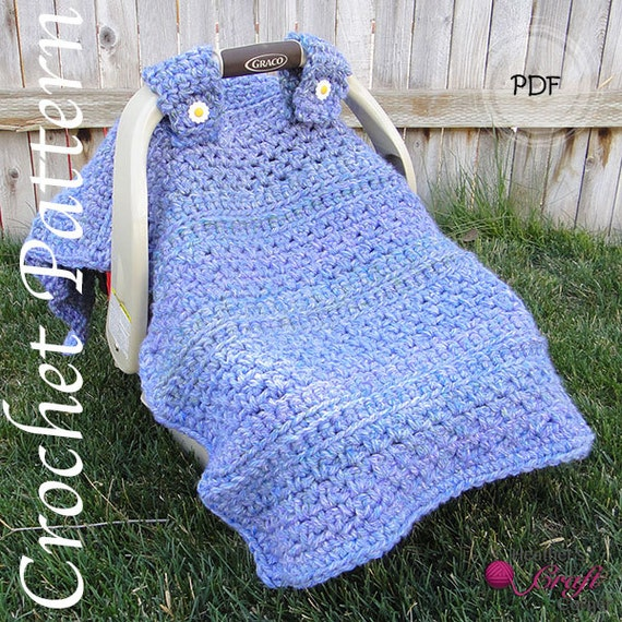 Crochet Pattern - Quick 'N Easy Chunky Canopy (US & UK Terms included)