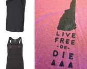 Live Free or Die New Hampshire TANK Shirt