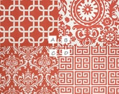 MEDIUM Dog Crate Cover- Choose your fabric from the CORAL Collection
