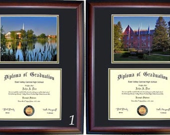 Elizabethtown Diploma Frame