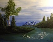 Original acrylic painting on sale