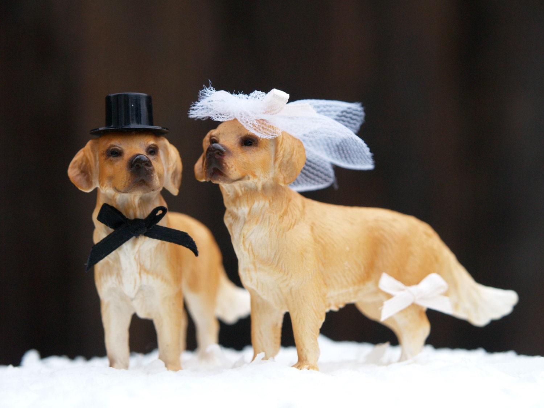 Etsy Wedding Cake Topper Dog