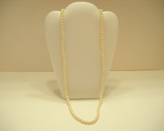 "24"" Faux Pearl Necklace (2440)"